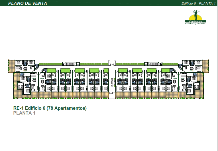 43 de 50: Edificio 6 Planta 1