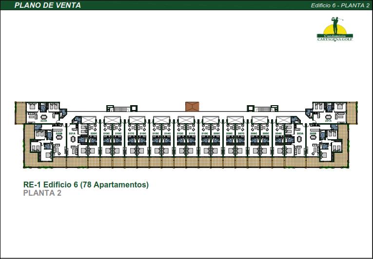 44 de 50: Edificio 6 Planta 2