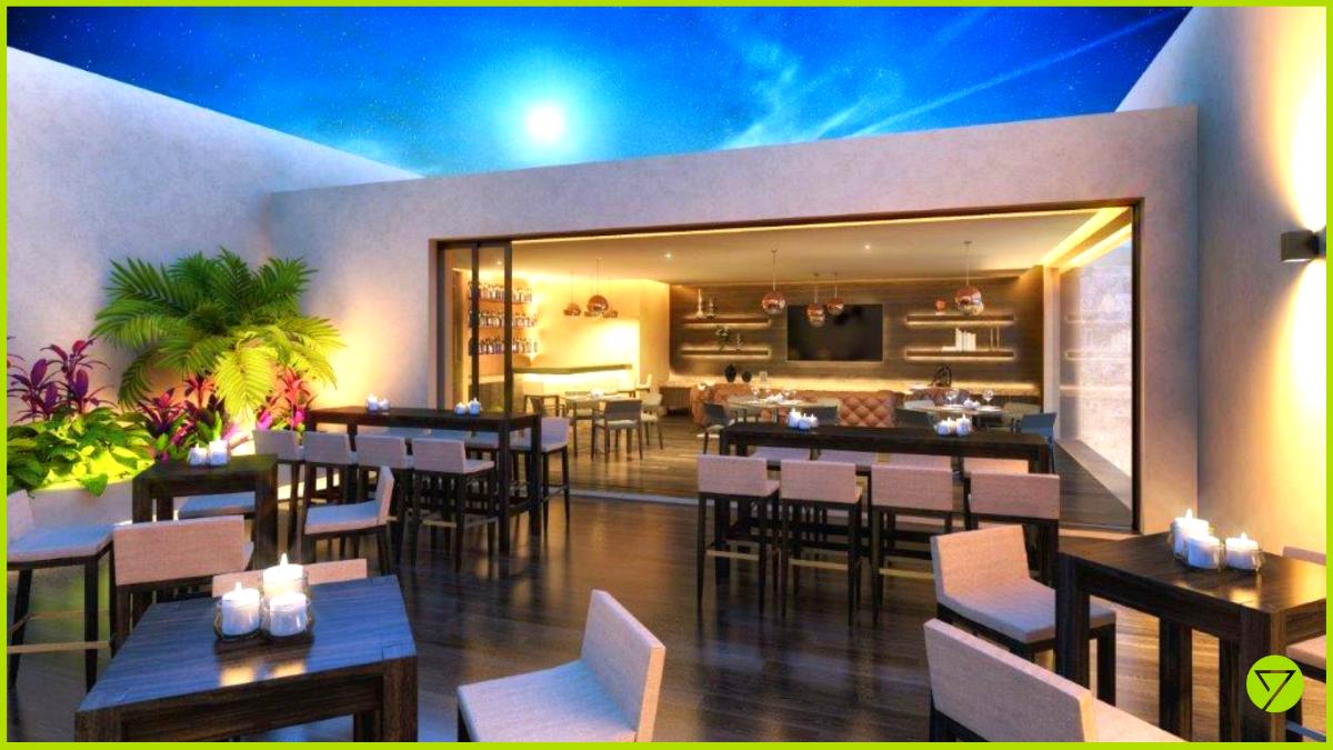 23 de 24: Private Bar con Terraza