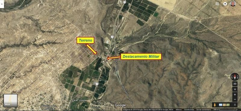 3 de 3: Cerca del destacamento militar