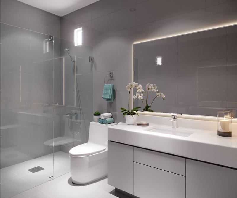 9 de 16: Imagen referencial del baño secundario