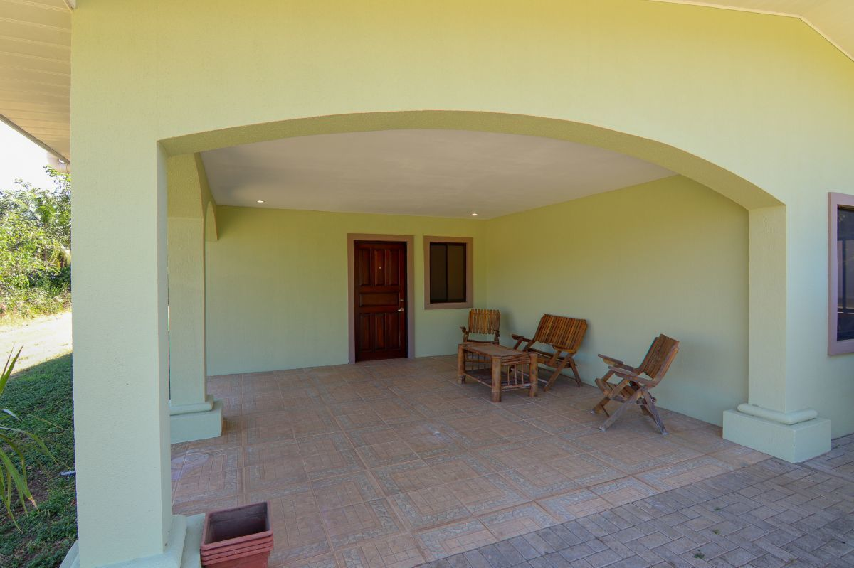 3 of 12: House entrance with terrace