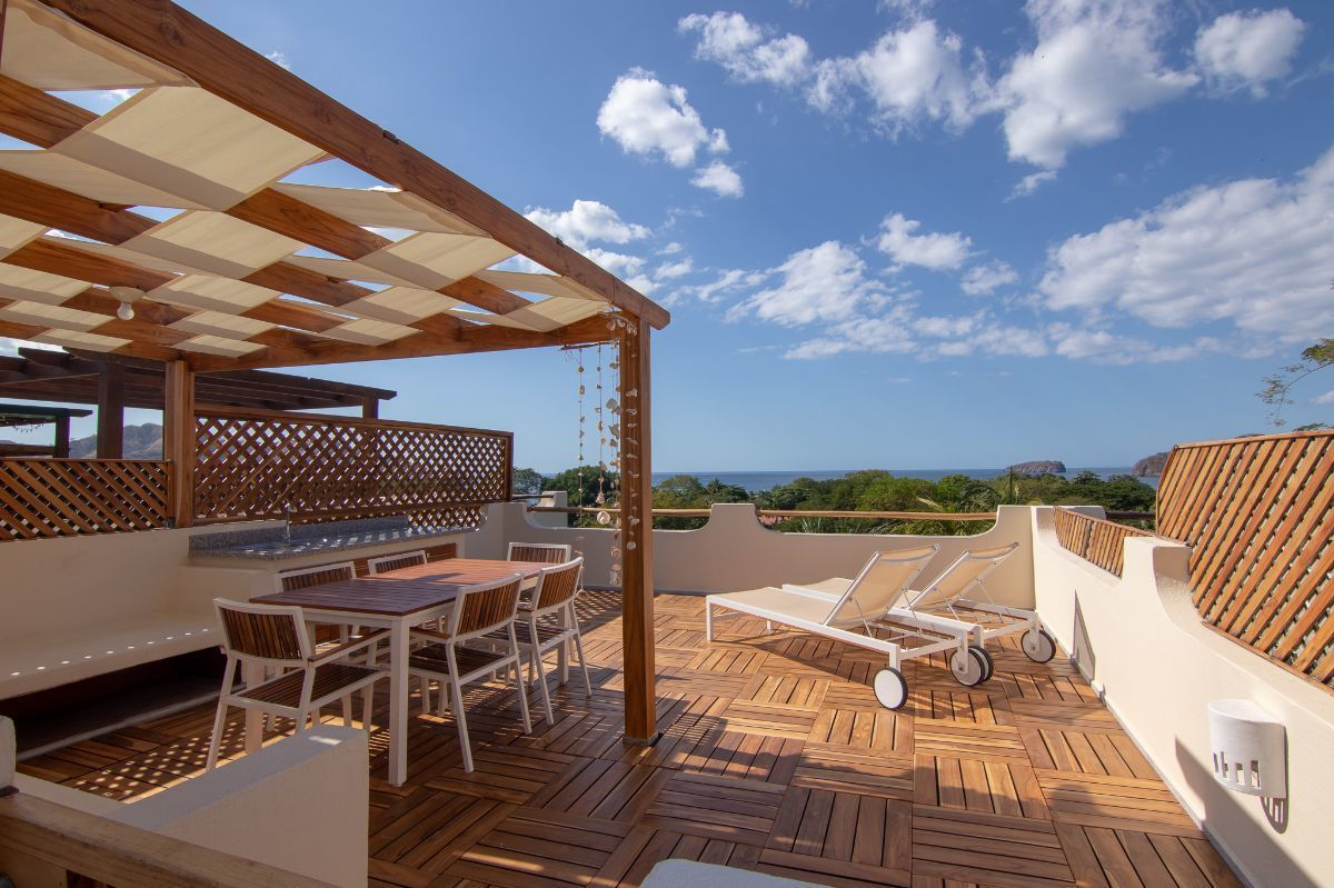 1 of 13: Remodeled ocean view roof terrace