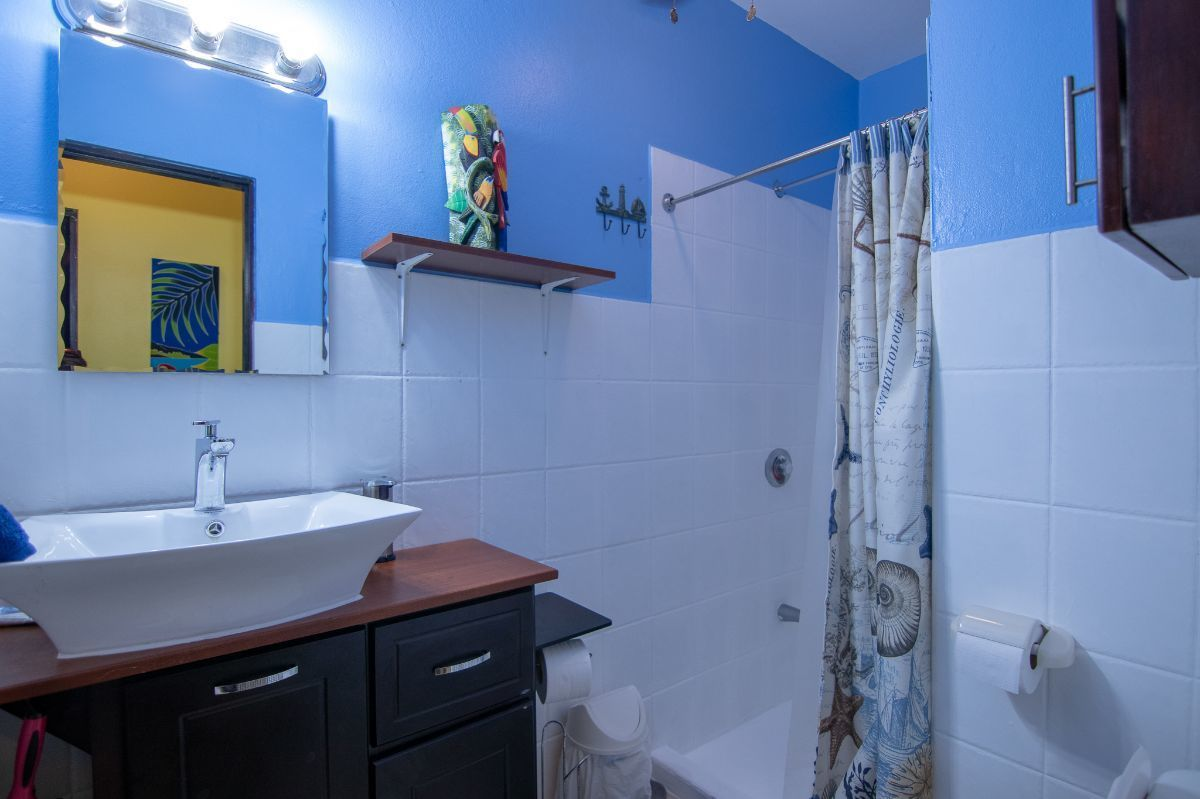 7 of 10: Remodeled bathroom