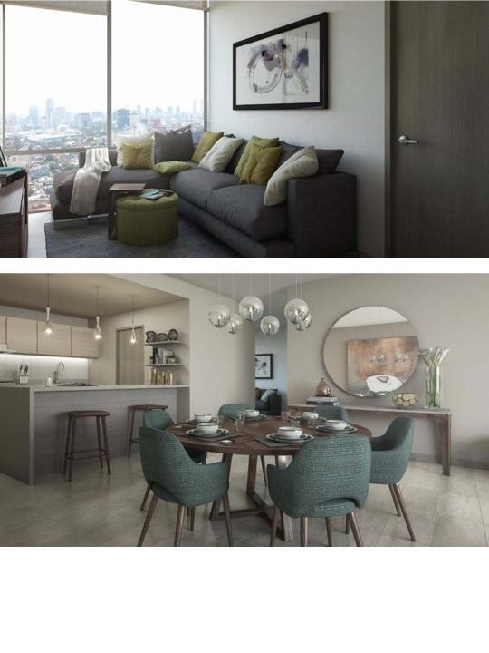1 de 8: Family Room/ Cocina/Comedor