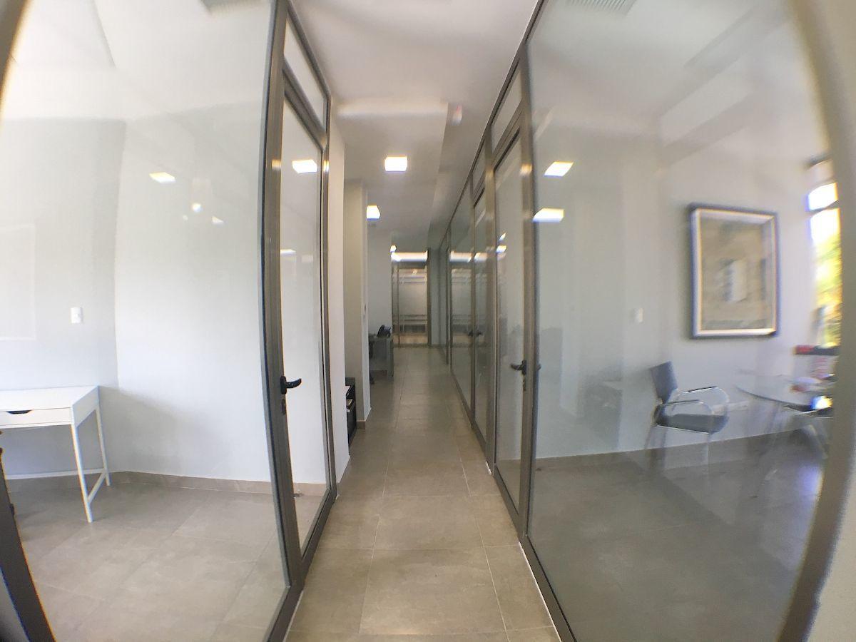 6 de 12: Pasillo de circulación de las oficinas