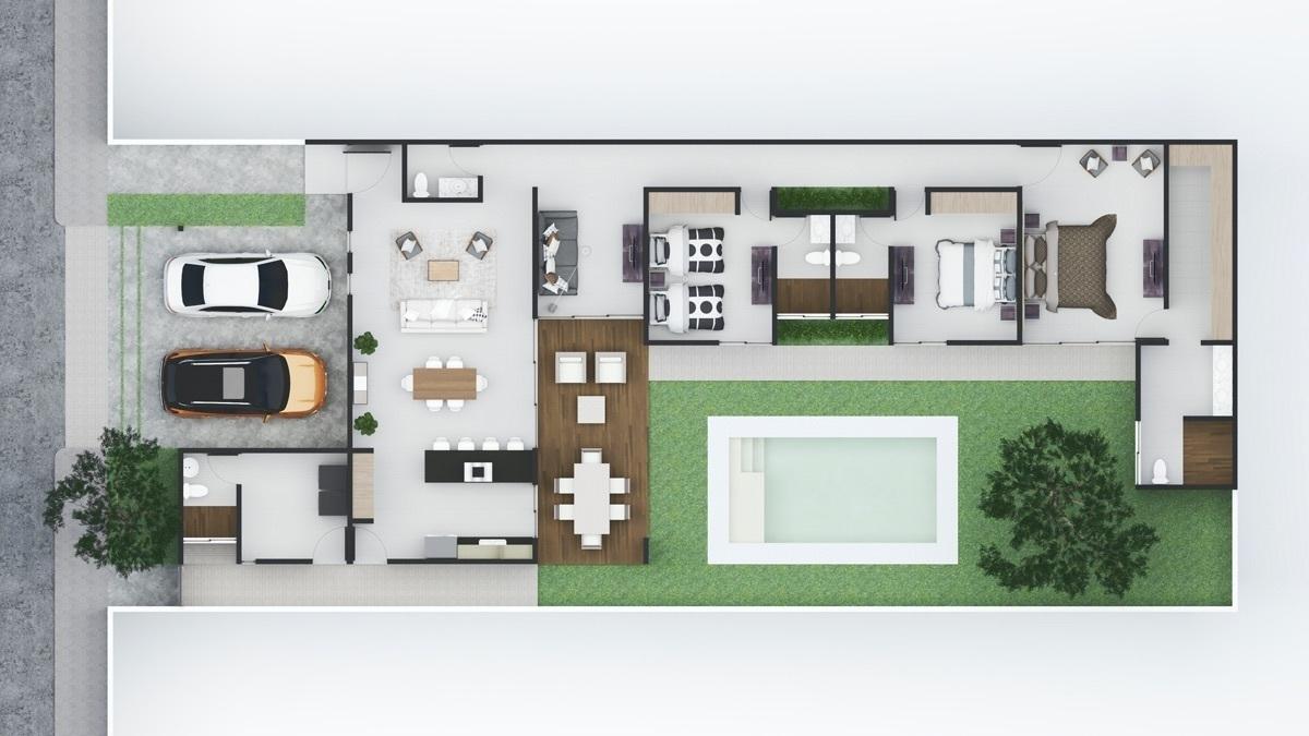 Casa Nueva De Una Planta En Venta Mirova Modelo 3 Dzitya Mérida Norte