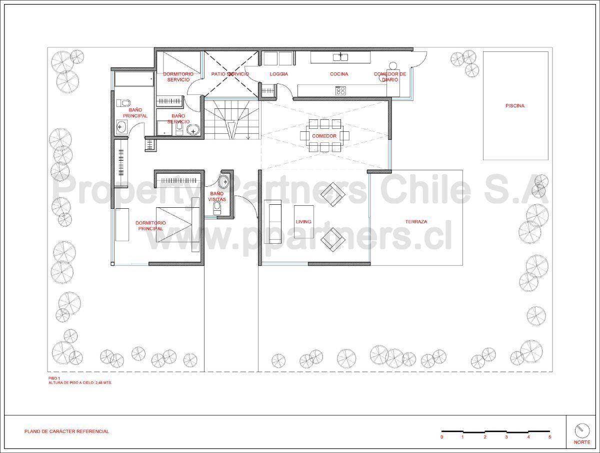 17 de 18: Plano primer piso