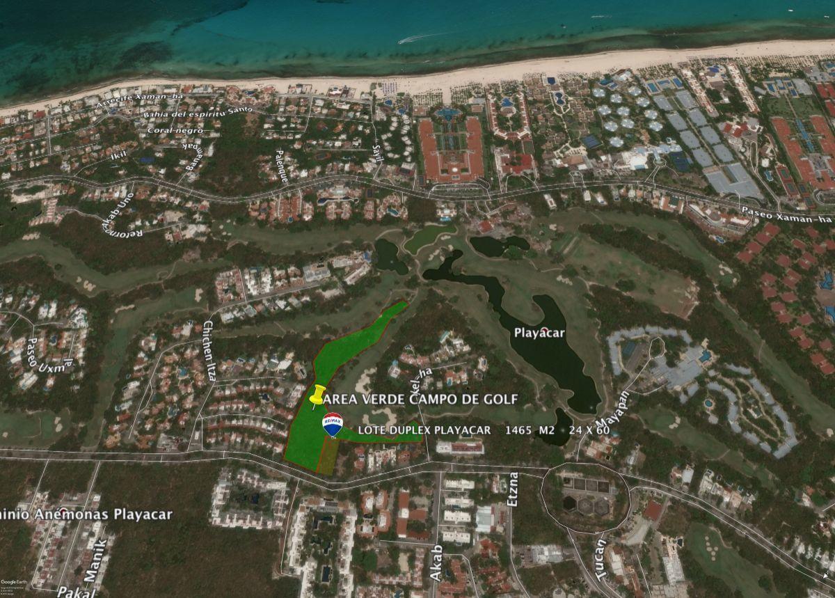 3 of 3: colinda con un area de amortiguamiento del campo de golf