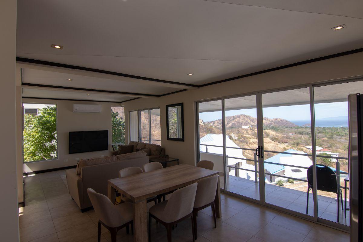 3 of 23: Ocean view living room