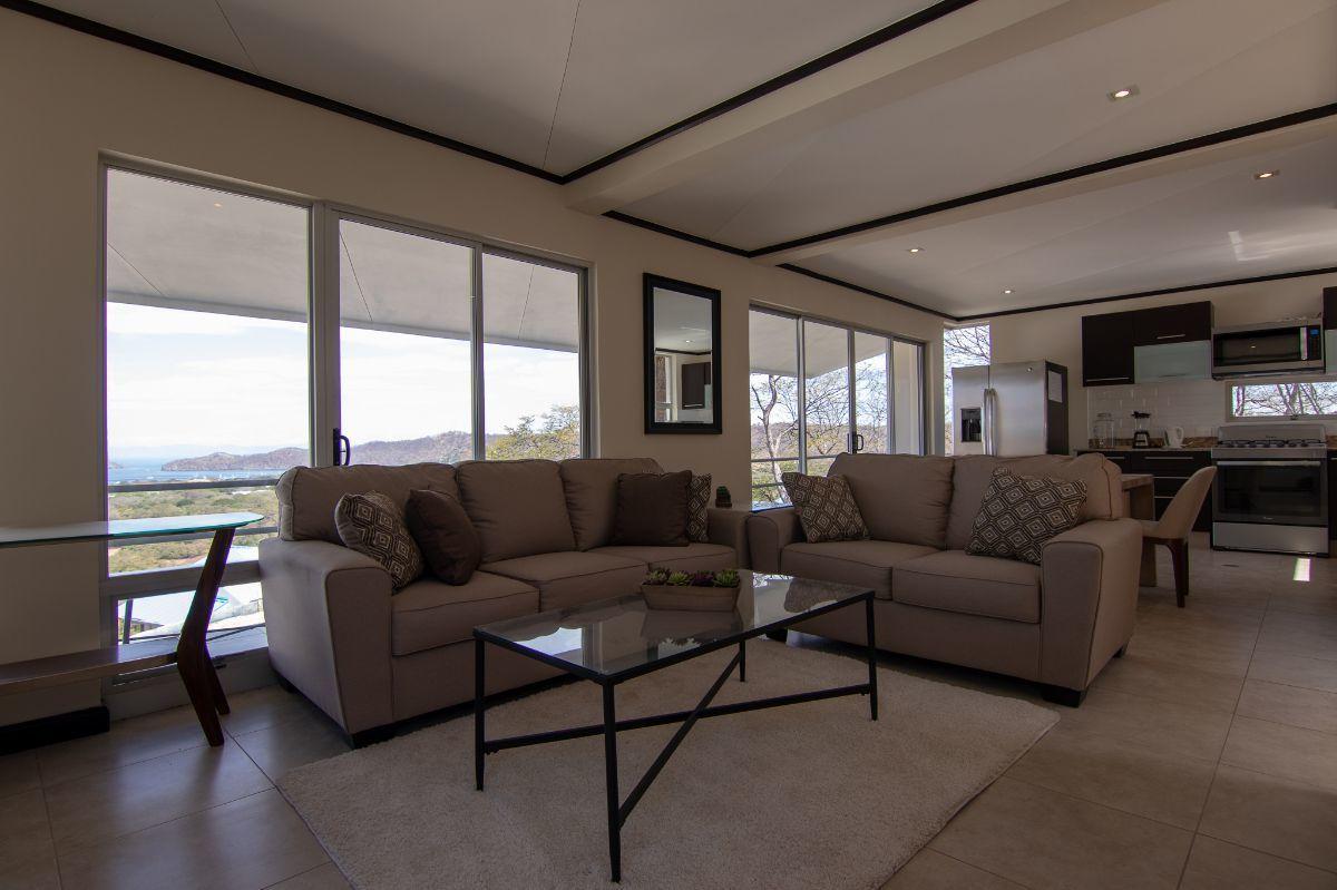 2 of 23: Ocean view living room