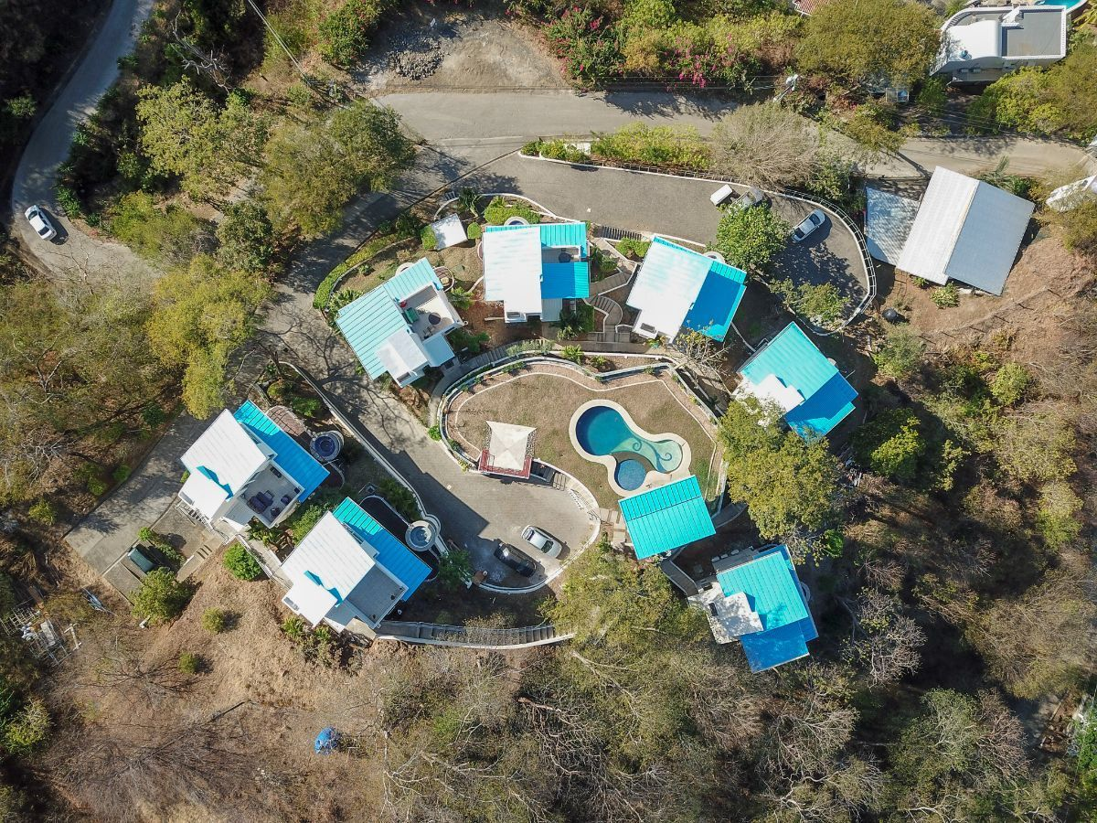 22 of 23: Aerial view of House of Winds community