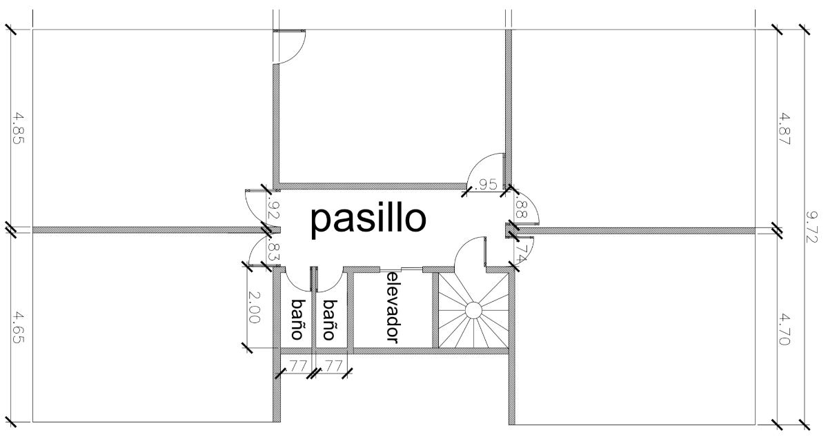2 de 6: Planta arquitectónica