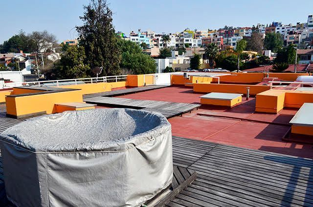 26 de 28: Jacuzzi en roof garden
