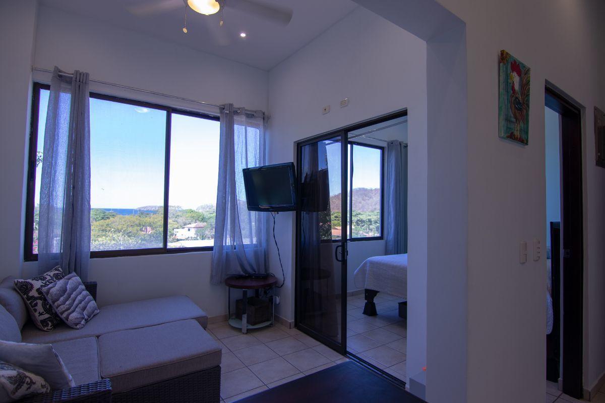 5 of 14: Ocean view living room
