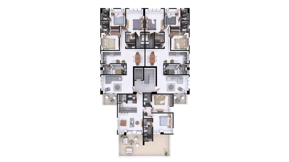 13 de 14: Plano dimensional nivel 2