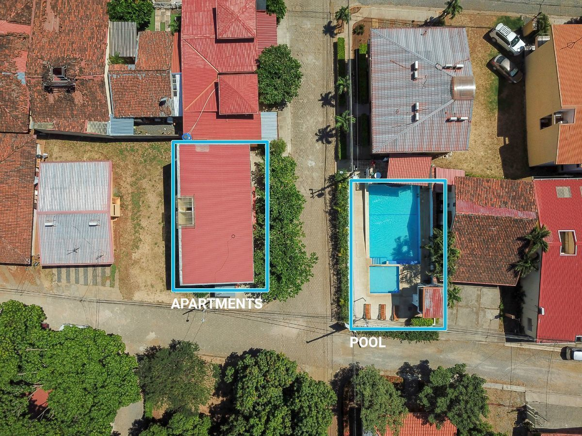3 of 25: Aerial view of Mango Apartments.
