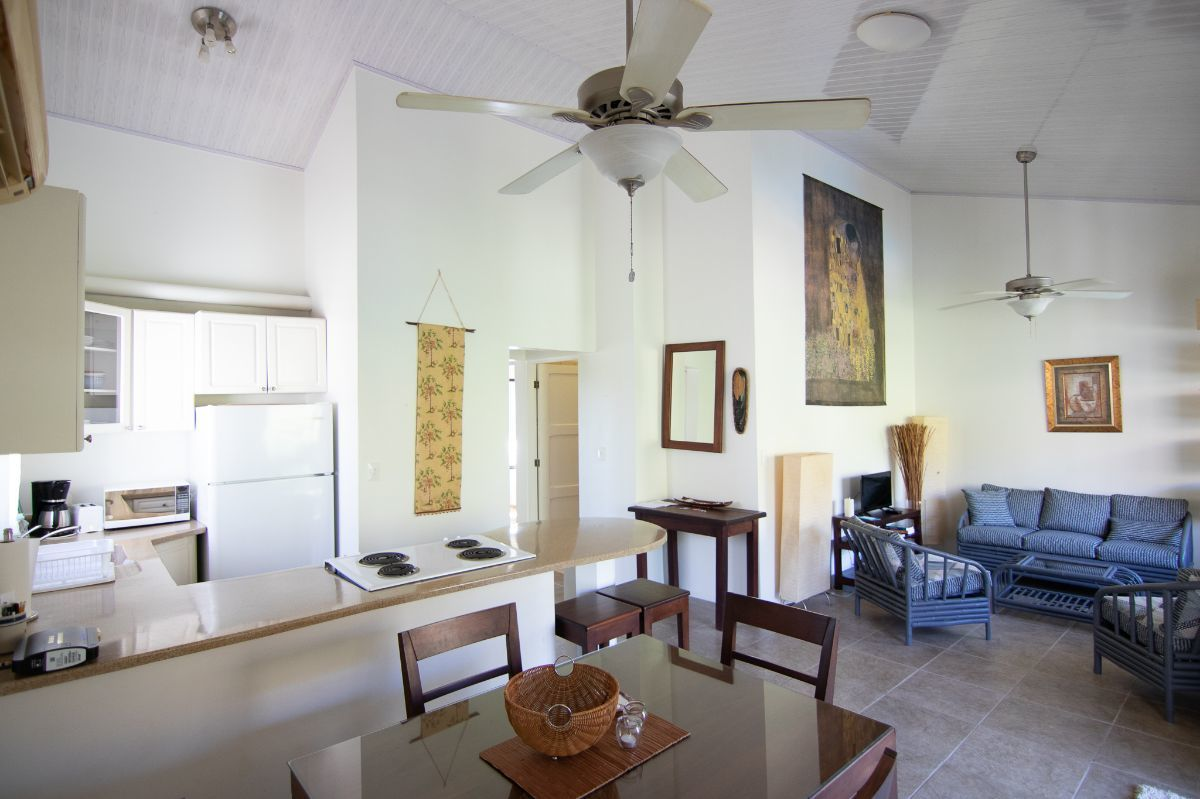1 of 15: Spacious living room and kitchen