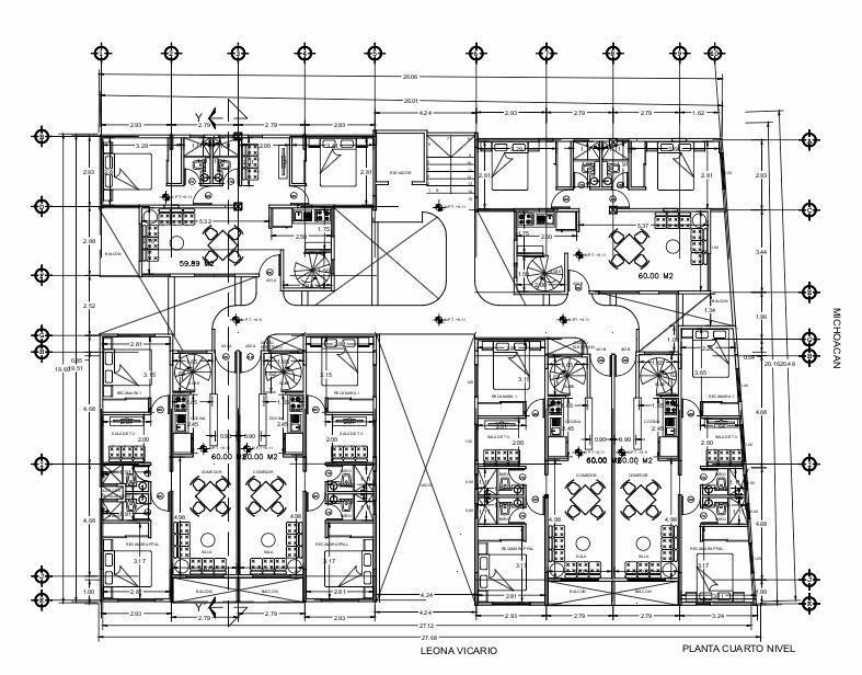 11 de 13: Plano Penthouses