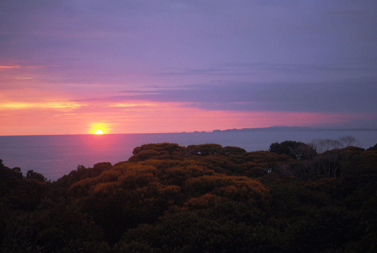 11 de 11: Enjoy Pacific Ocean sunsets throughout the year.