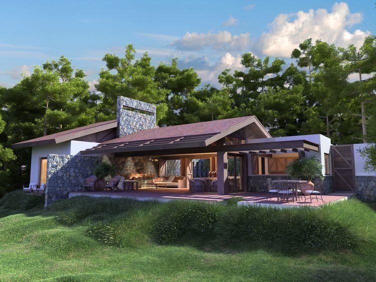 3 de 12: Villa Alterra 1 . con 3 hab. 3.5 baños . US$ 189,000