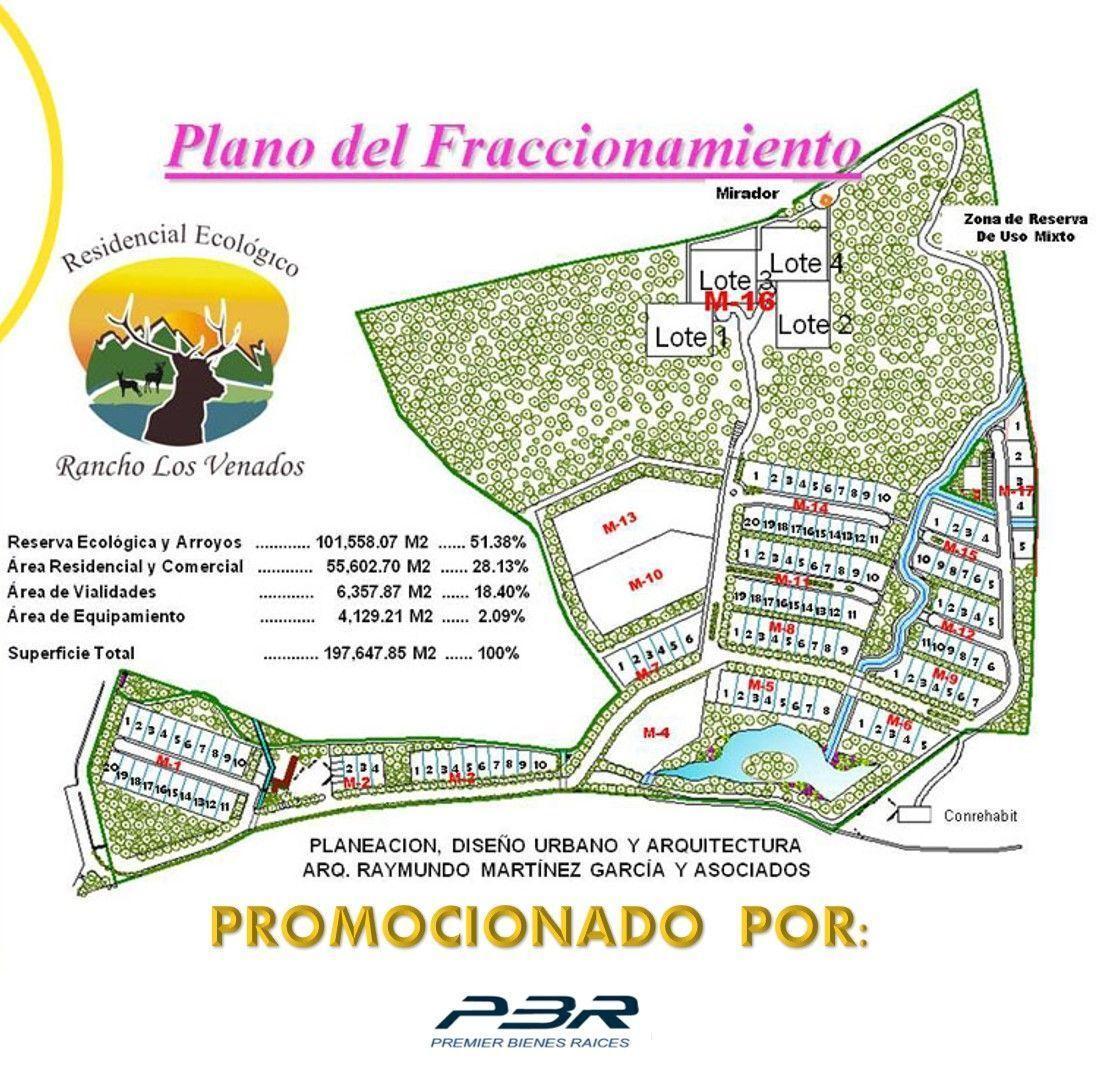 2 de 30: PLANO DEL FRACCIONAMIENTO