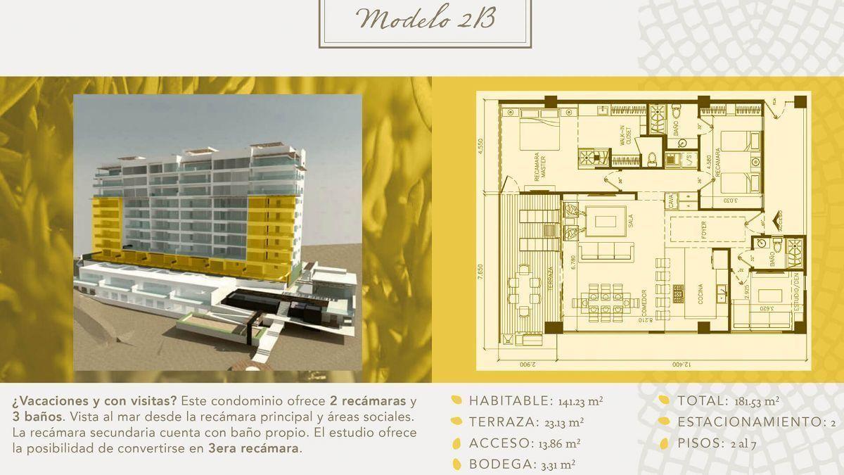 7 de 16: Departamentos en Venta en Torre Marea PMR-406