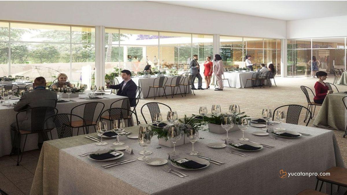 8 de 13: Casa Club con comedor completo.