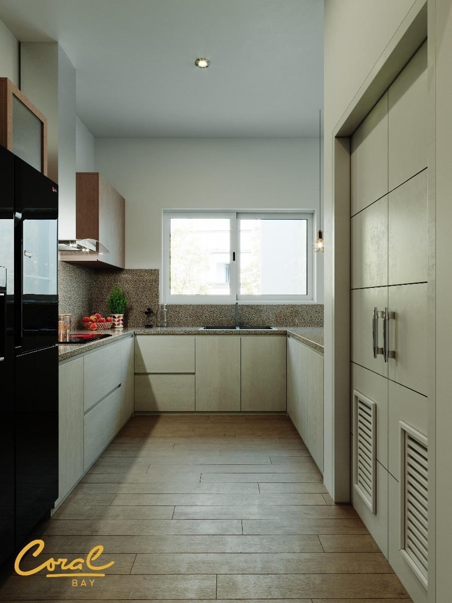 4 de 7: cocina equipada estilo europeo