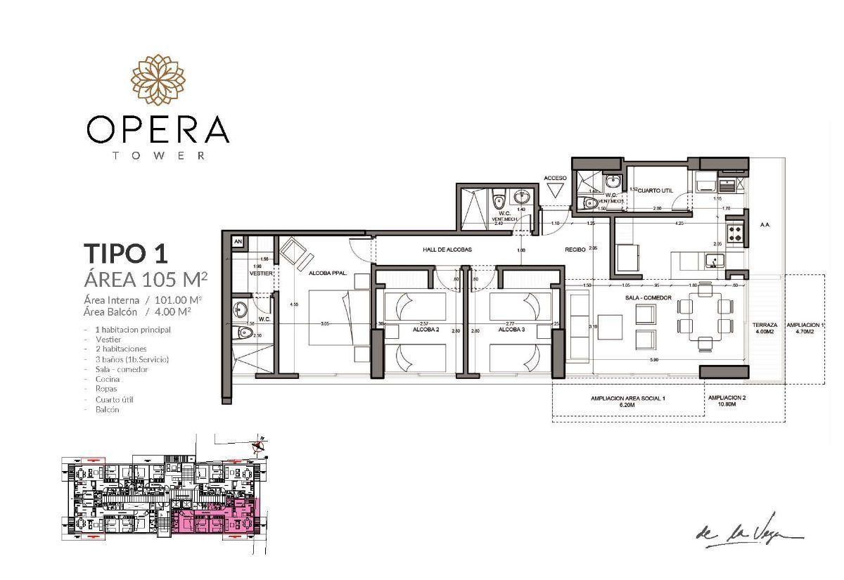 11 de 16: Apartamento Tipo 1