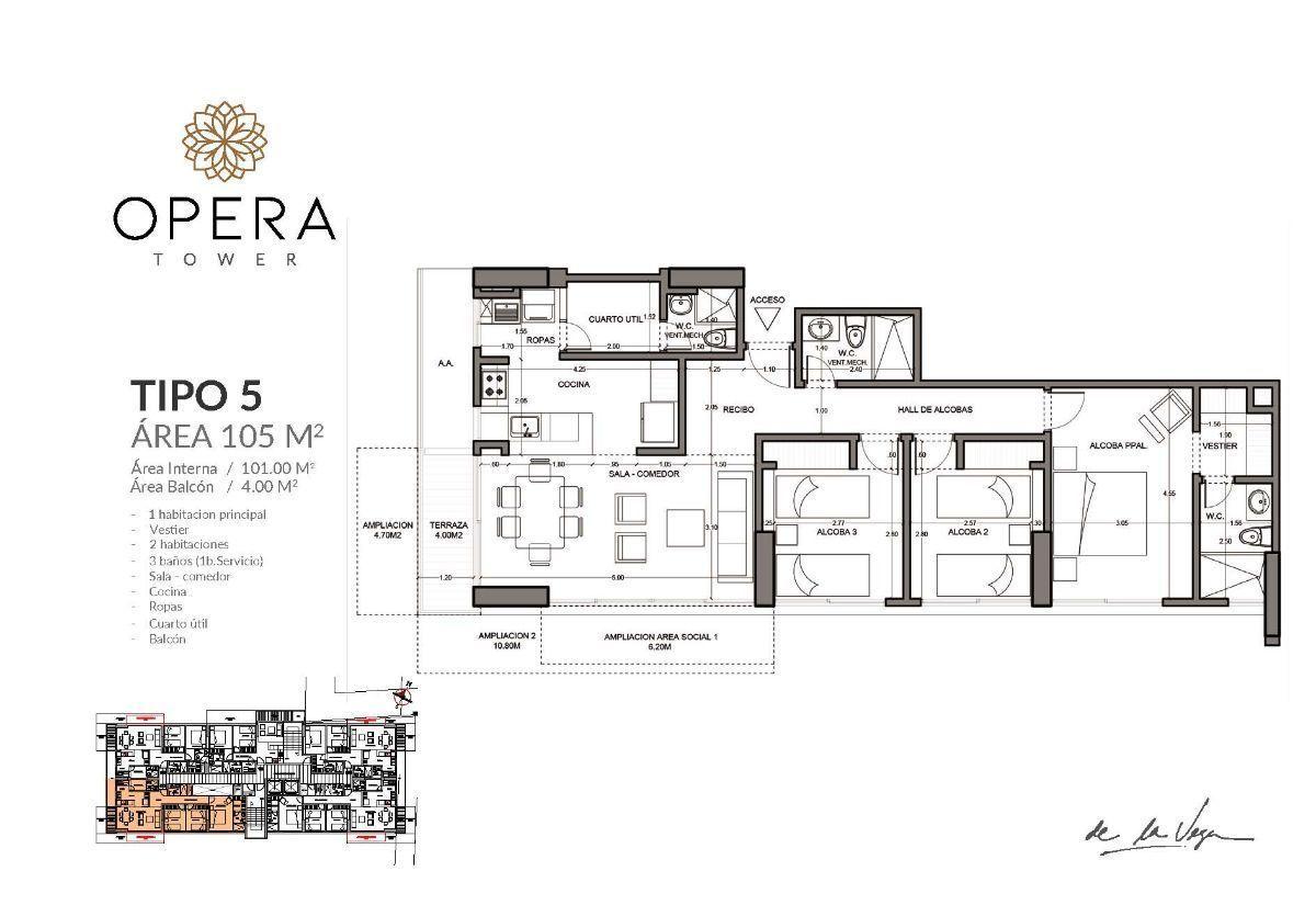 15 de 16: Apartamento Tipo 5