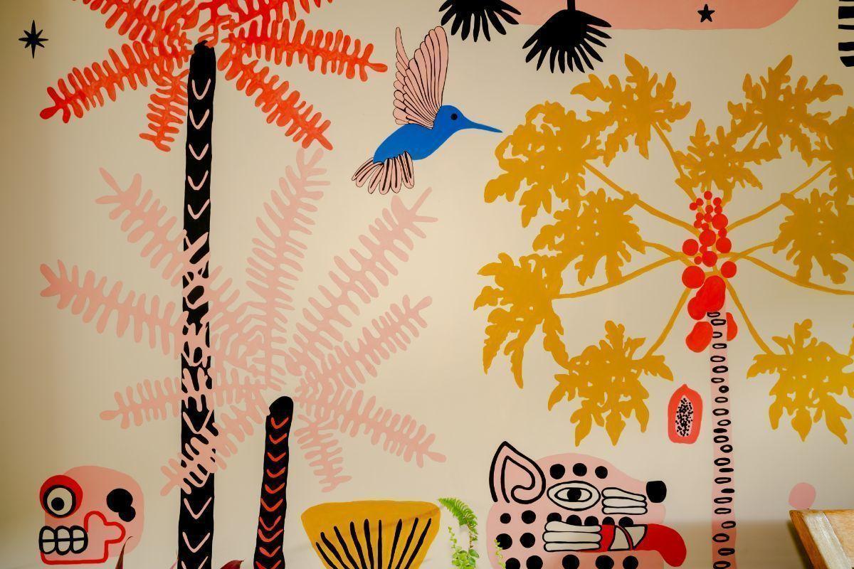 16 de 48: Handmade Mural