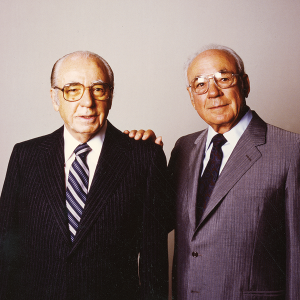 Leaders of wine: Ernest and Julio Gallo