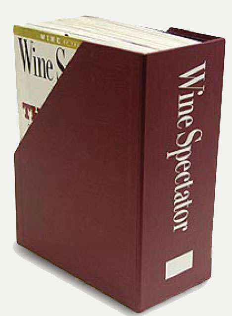 Wine Spectator MAGAZINE CASE