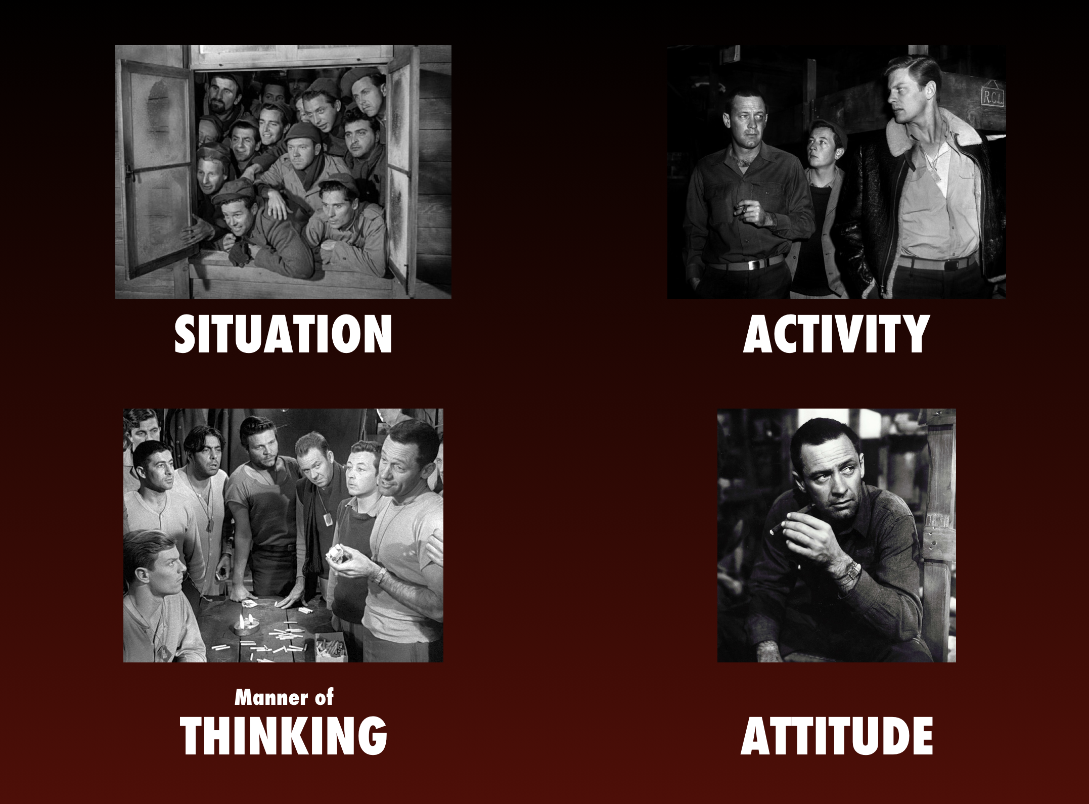 The Throughlines of *Stalag 17*