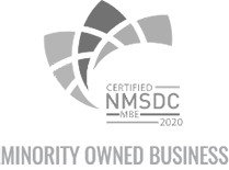 Cerified NMSDC MBE - Minority Owned Business