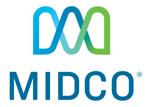 Midco logo 4c stacked white