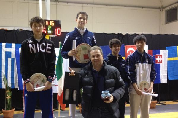 Thomas Dudey And Axel Kiefer Win Gold And Bronze At Pisa
