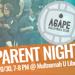 Agape Parent Night