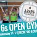 16s Open Gym