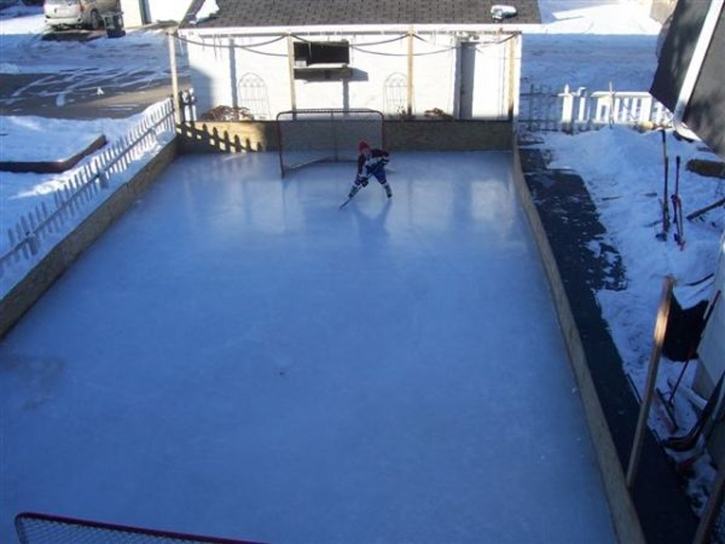 have you been considering a backyard rink