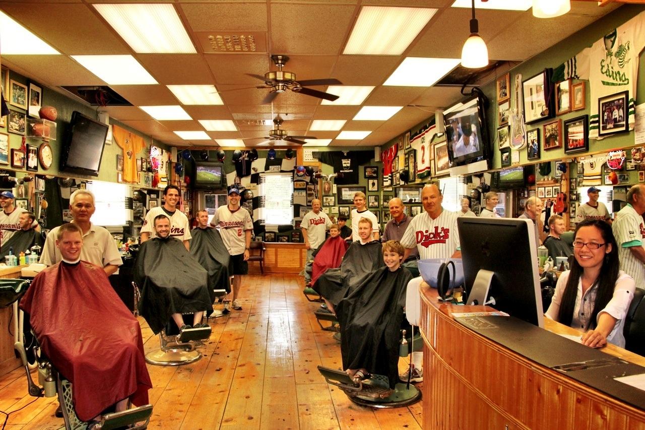 Dick's Sports Barbers Crew