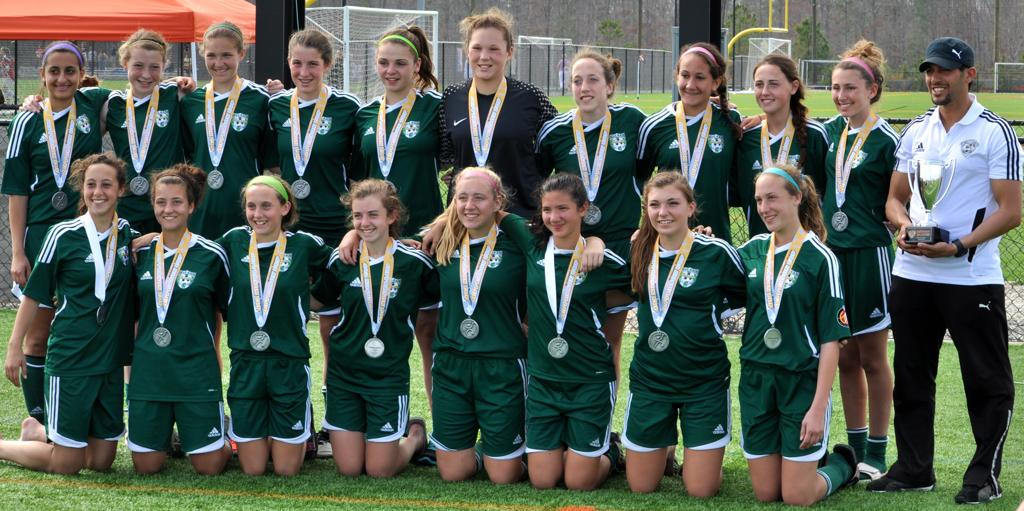 McLean Force ECNL '96 - Jefferson Cup Elite U15 Finalists - March 18, 2012