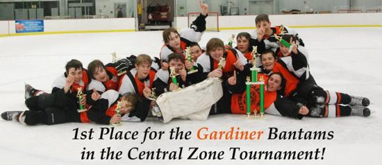 Gardiner Bantams - Central Zone Champions - 2012 - 2013