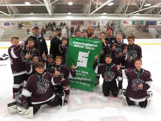 Congrats to the Squirt Travel Team.