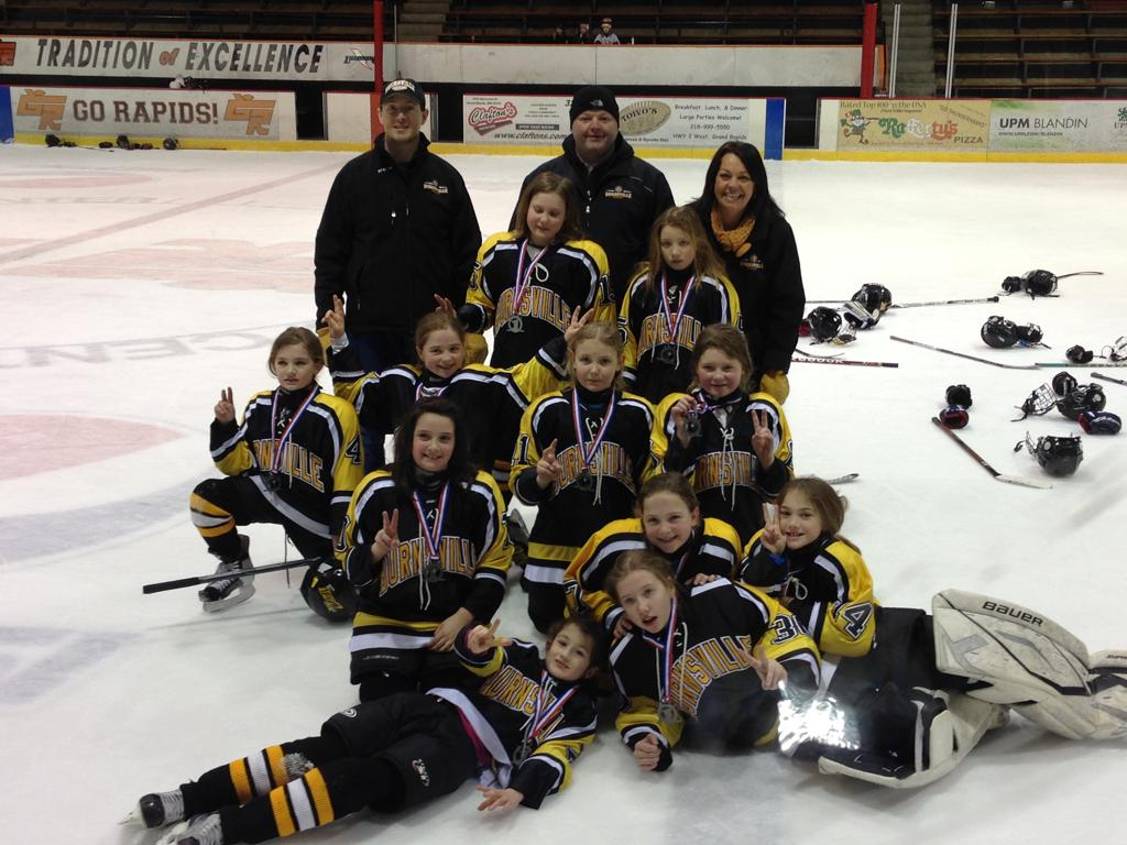 U10B team takes 2nd in Star of the North Tournament, Grand Rapids!!