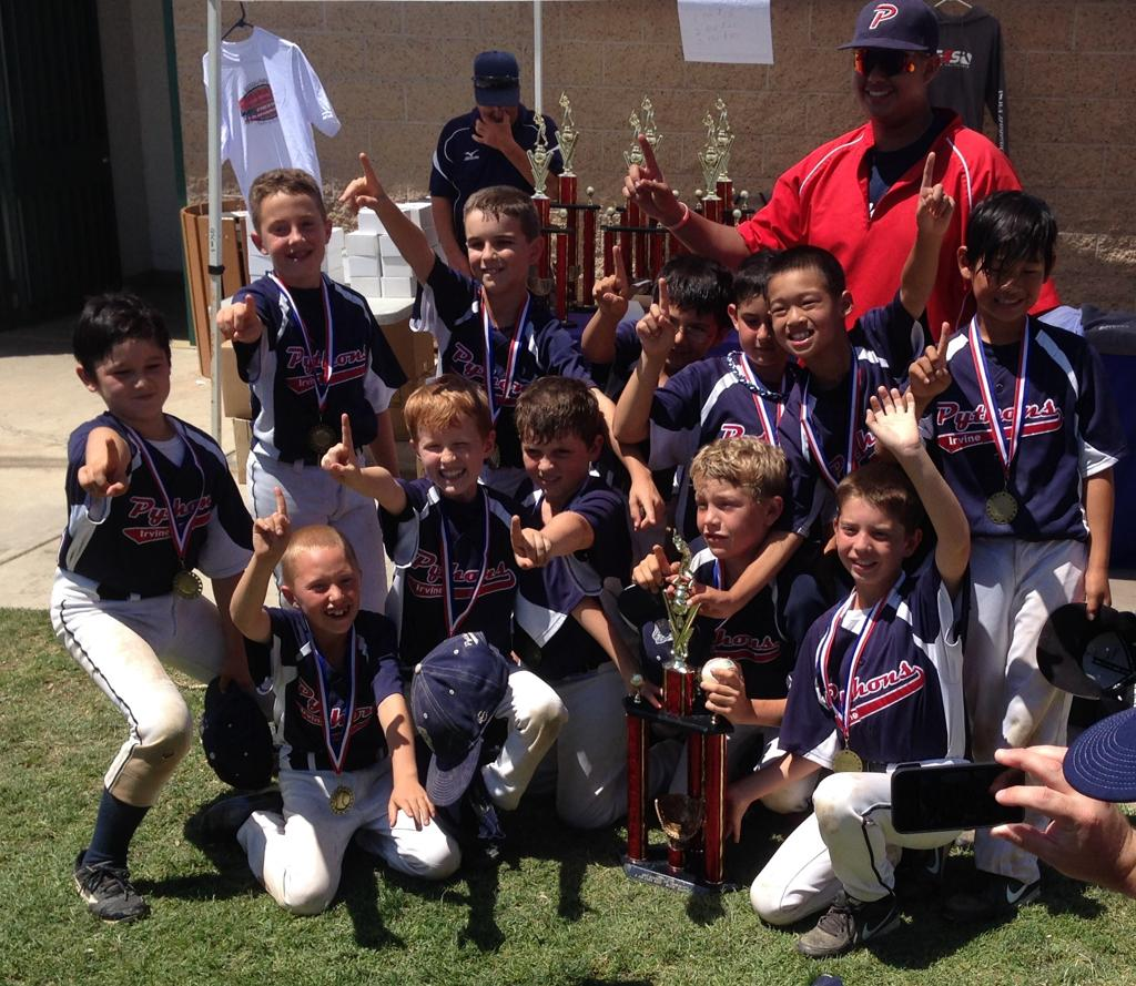 Pythons 9u Win Silver Div. FV Pony Memorial Day Tournament