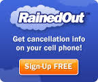 Rain Out Notification Sign-up