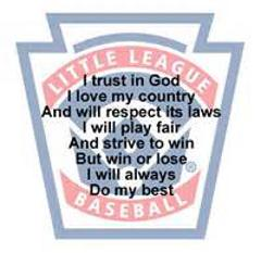 Little League Pledge