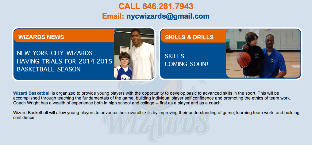 NYC Wizards are having tryouts for the 2015-16 AAU Season.